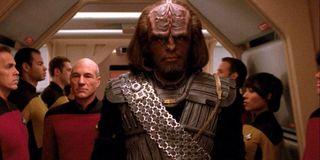 Worf Picard Star Trek: The Next Generation