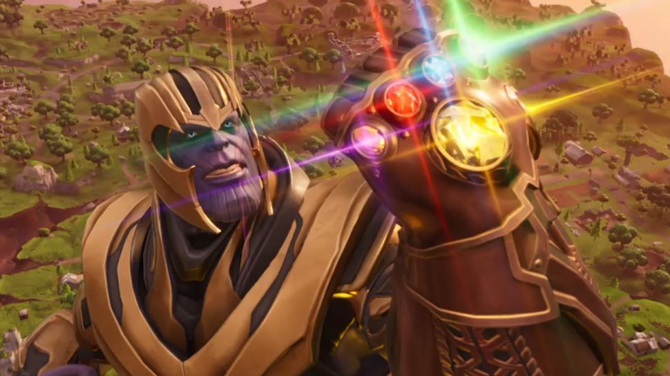 Fortnite's Infinity Gauntlet mode could be coming back for Christmas, as dataminers find Thanos hiding in the latest update