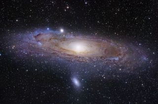 The Andromeda Galaxy, M31, is the nearest spiral galaxy to our own Milky Way.