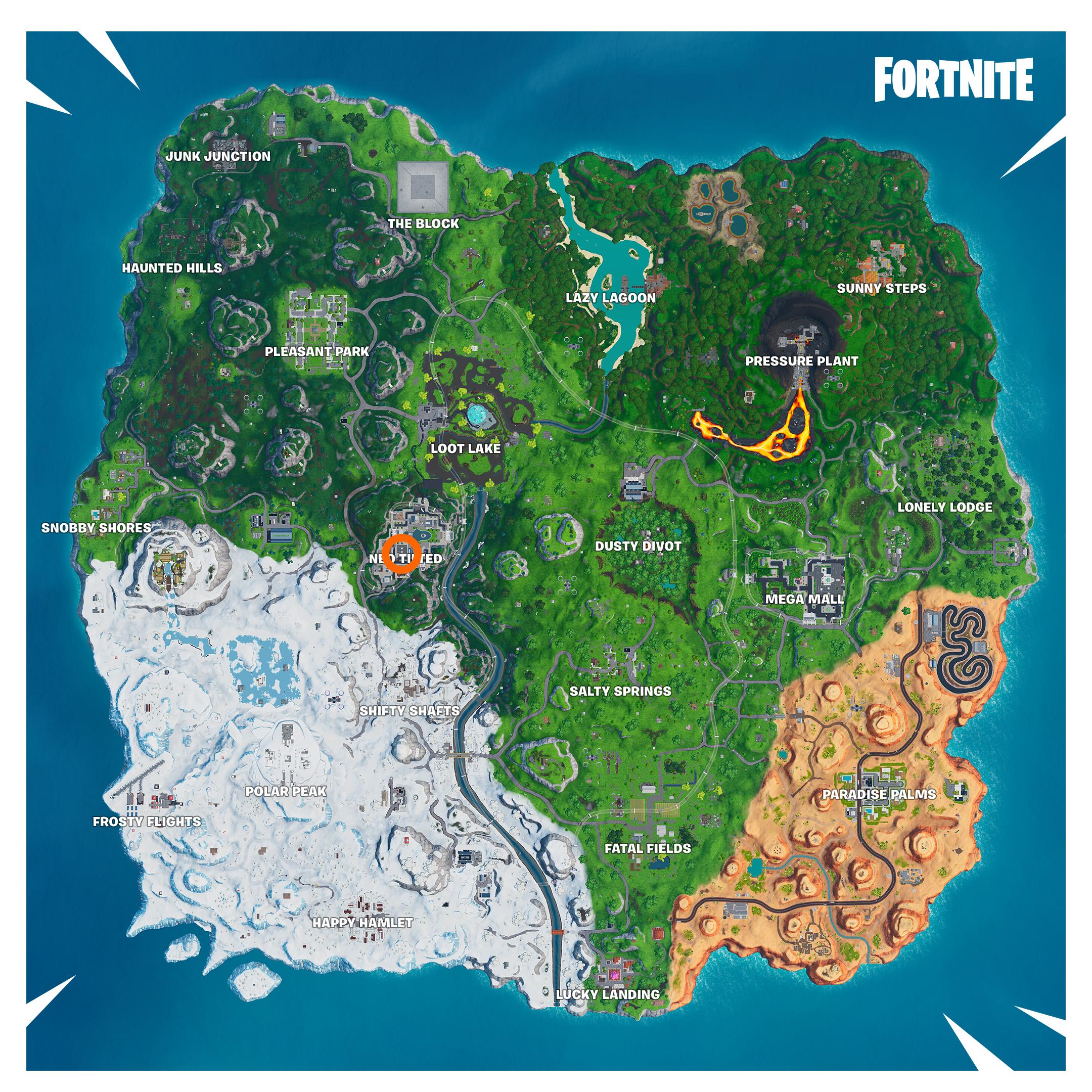 Fortnite Fortbyte 41 siti