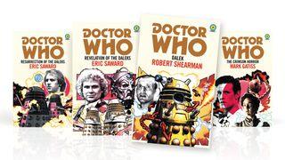 Four Doctor Who Target novels.