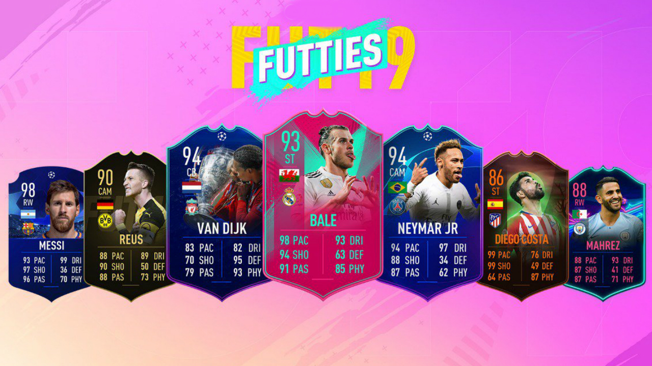 FIFA 19 Futties event brings boosted cards and a free pack for every