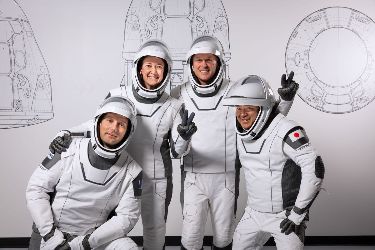 Meet Crew-2: The 4 space-bound astronauts launching aboard SpaceX's Crew Dragon
