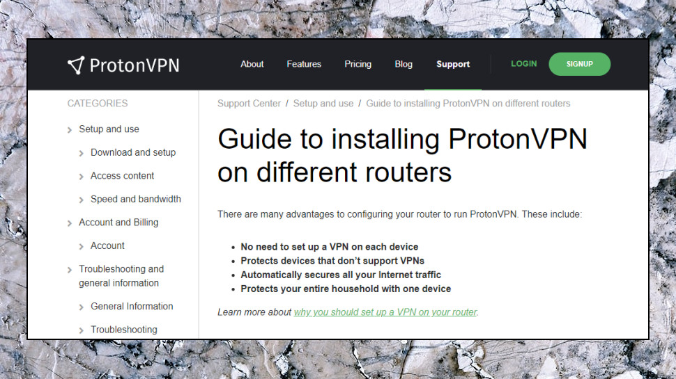 ProtonVPN Setup Guides