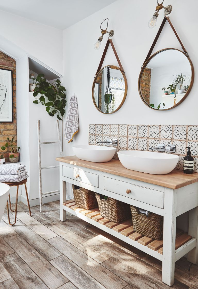 Nikki Edwards sacrificed a bedroom to create the perfect spa-like bathroom in her Walthamstow home