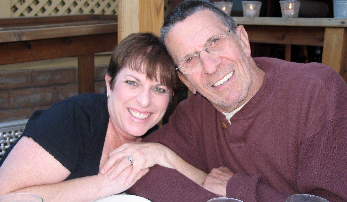 Julie Nimoy and Leonard Nimoy
