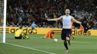 Andres Iniesta World Cup 2010 final