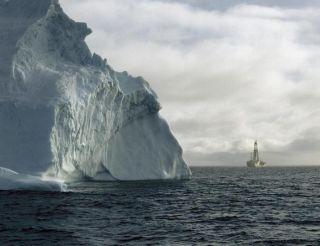 Antarctic drilling vessel