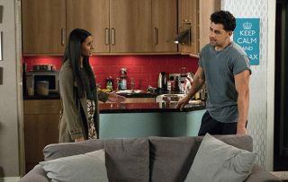 Will Alya Nazir tell David that Josh is staying a Billy's flat?