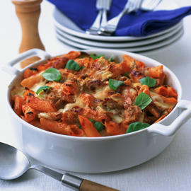 Tuna pasta bake-fish recipes-pasta recipes-woman and home