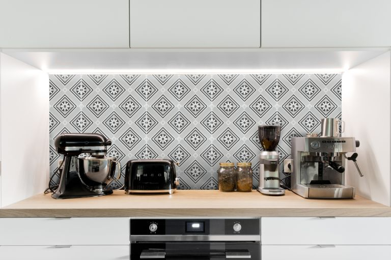Kitchen splashback tiles by Stone and Ceramic Warehouse