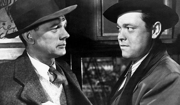 The Third Man Orson Welles cornering