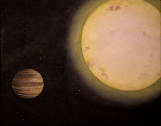 Artist's Illustration of KELT-6b Alien Planet