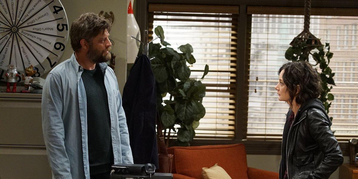 ben and darlene the conners breakup abc season 2
