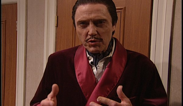 Saturday Night Live Christopher Walken as The Continental