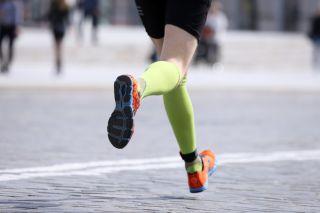 runner, foot, pavement