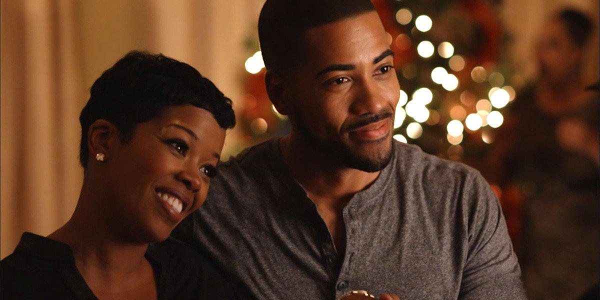 Malinda Williams and Brad James in Marry Me For Christmas