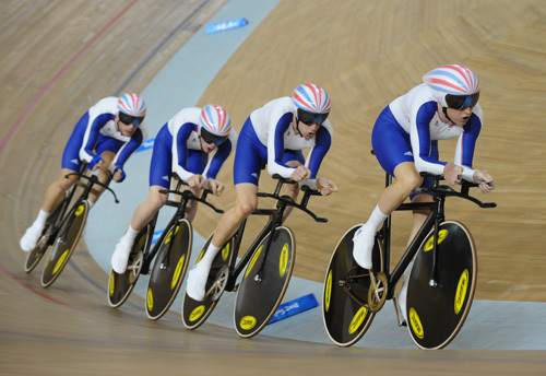 Great Britain team pursuit Olympics 2008