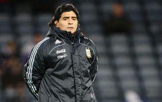 Diego Maradona File Photo