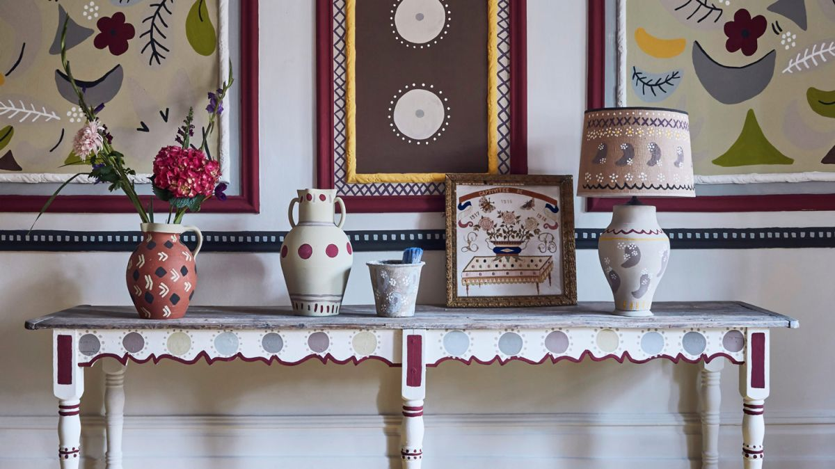 The latest interior trend revisits Bloomsbury style