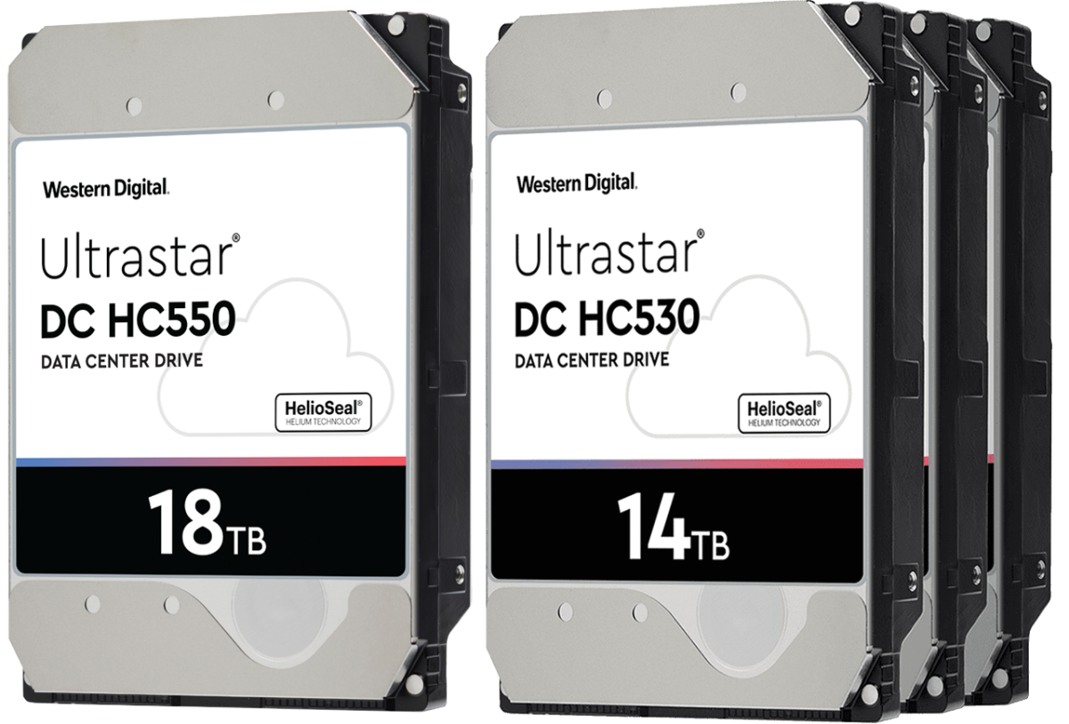 Western Digital ships 16TB and 18TB EAMR hard drives, preps 20TB HDDs