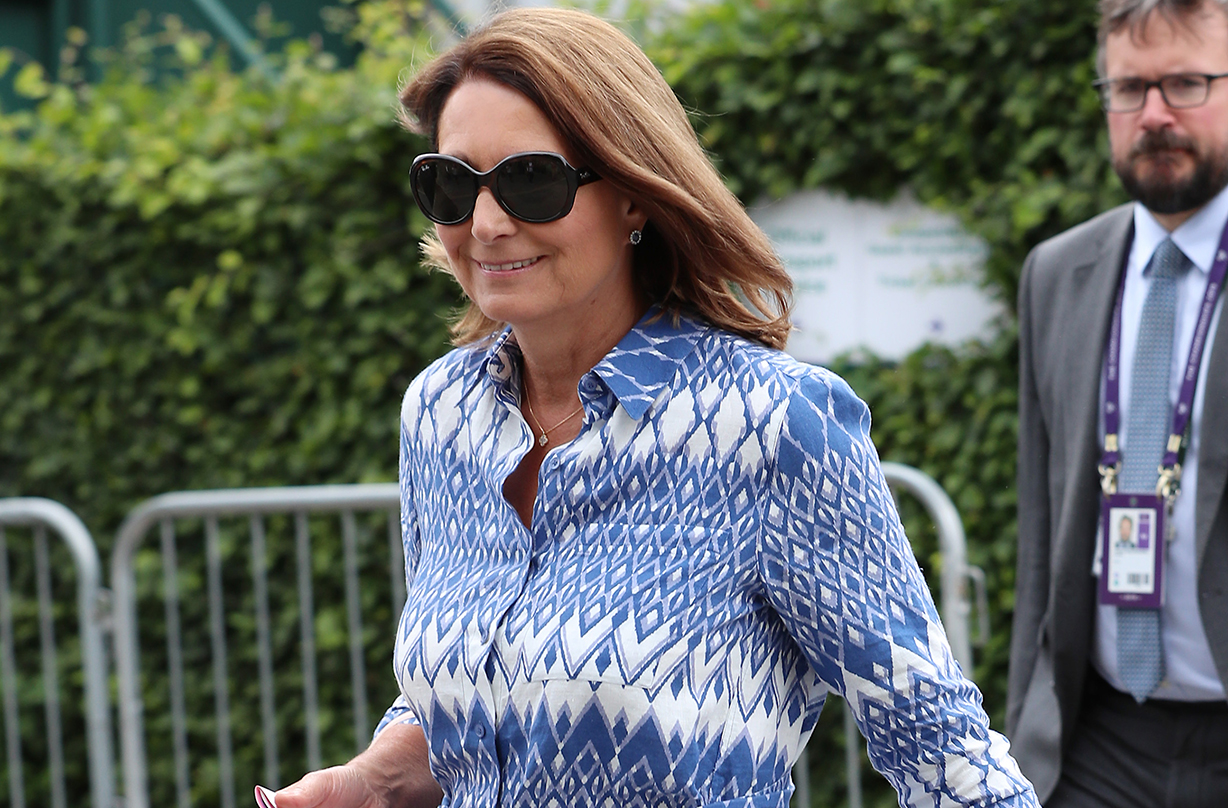 carole middleton striped top marks spencer replica