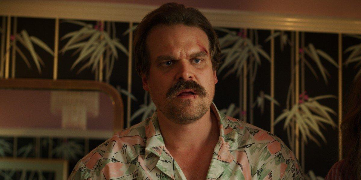 David Harbour as Jim Hopper on Stranger Things (2019)