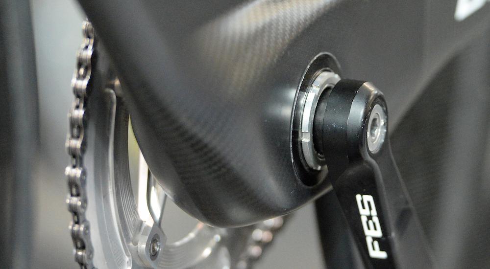 Campagnolo athena bottom bracket asymetric