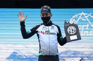 Esteban Chaves enjoyed being back on the podium at the Volta a Catalunya