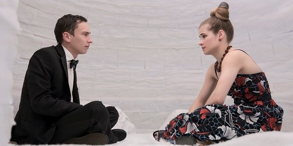 Sam and Paige Keir Gilchrist Jenna Boyd Atypical Netflix