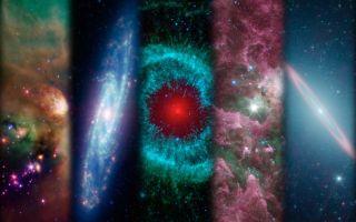 Spitzer Space Telescope Montage Ten Years