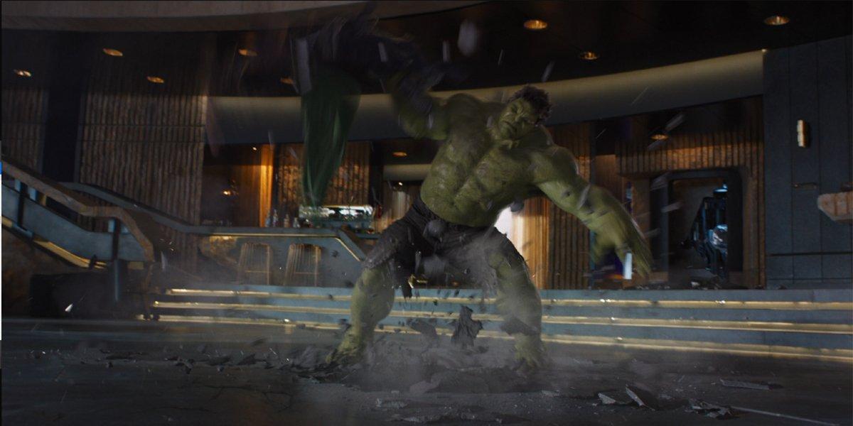 Hulk vs. Loki the avengers