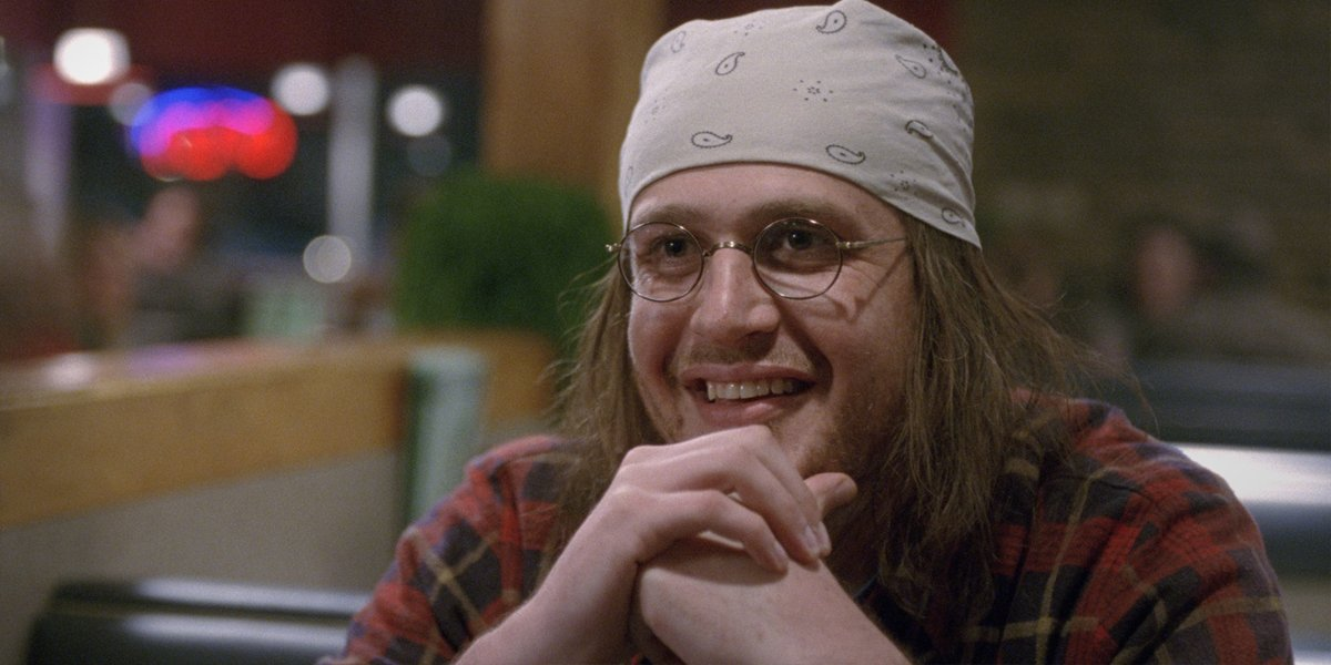 Jason Segel as David Foster Wallace in The End Of The Tour