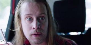 Macaulay Culkin in the Home Alone short reunion