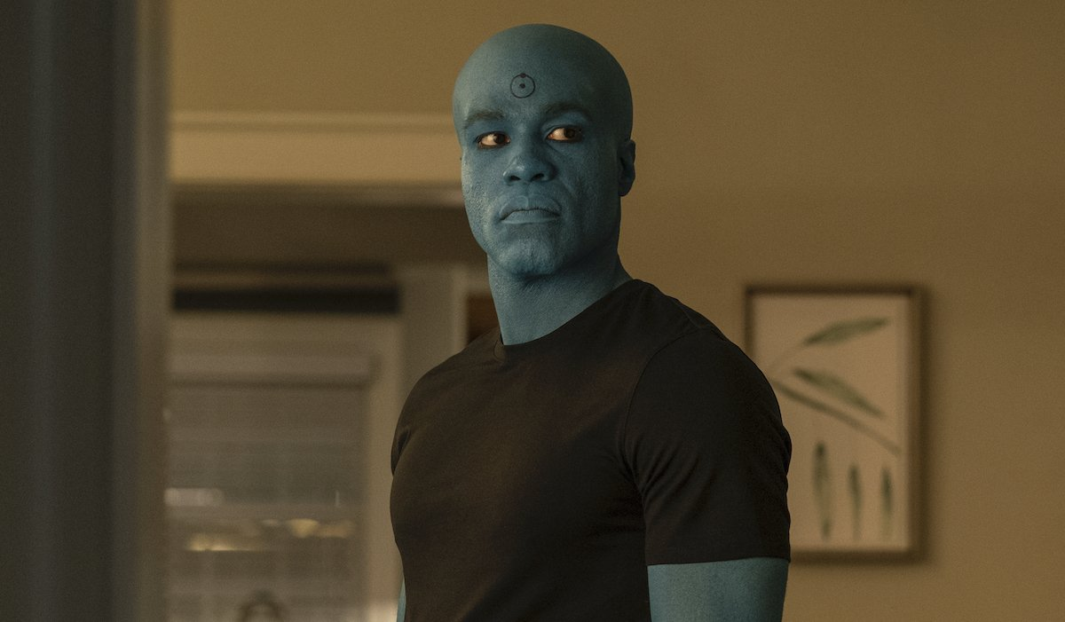 hbo watchmen cal as doctor manhattan