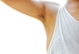 A man's armpit