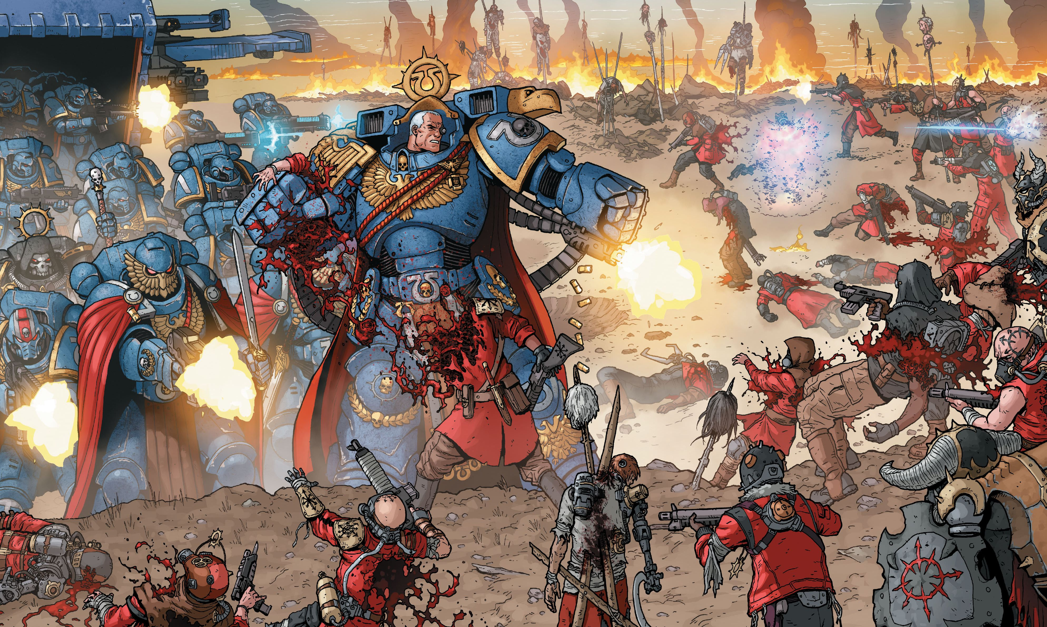 Marneus Calgar, from one of the best 40K books