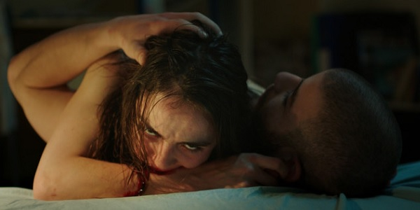 Raw Justine Biting Her Arm