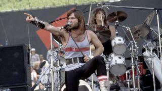 Iron Maiden live in 1982