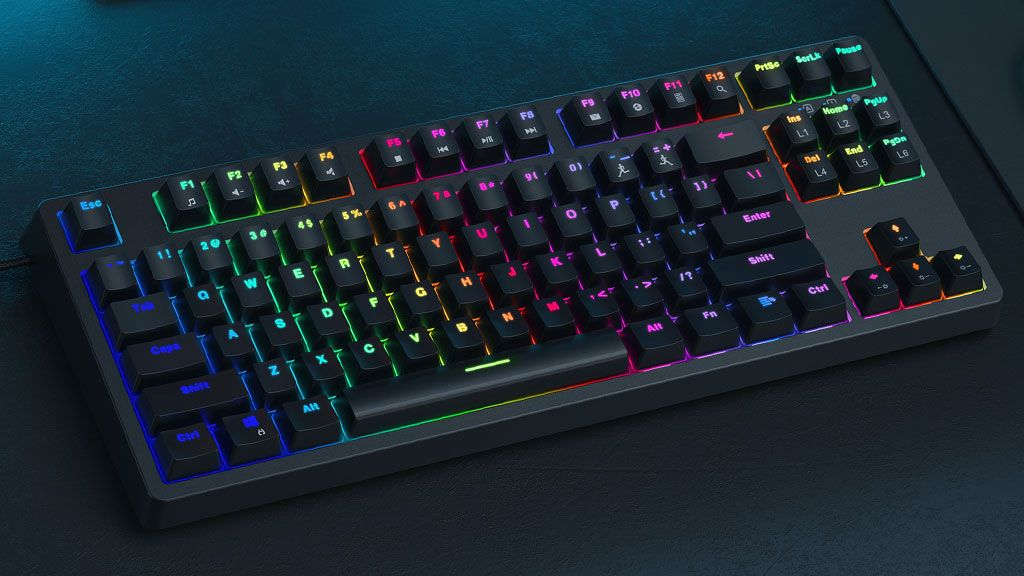 Prefer a loud keyboard? These mechanical models with RGB are as low as $25