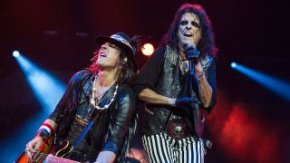Alice Cooper and Ryan Roxie