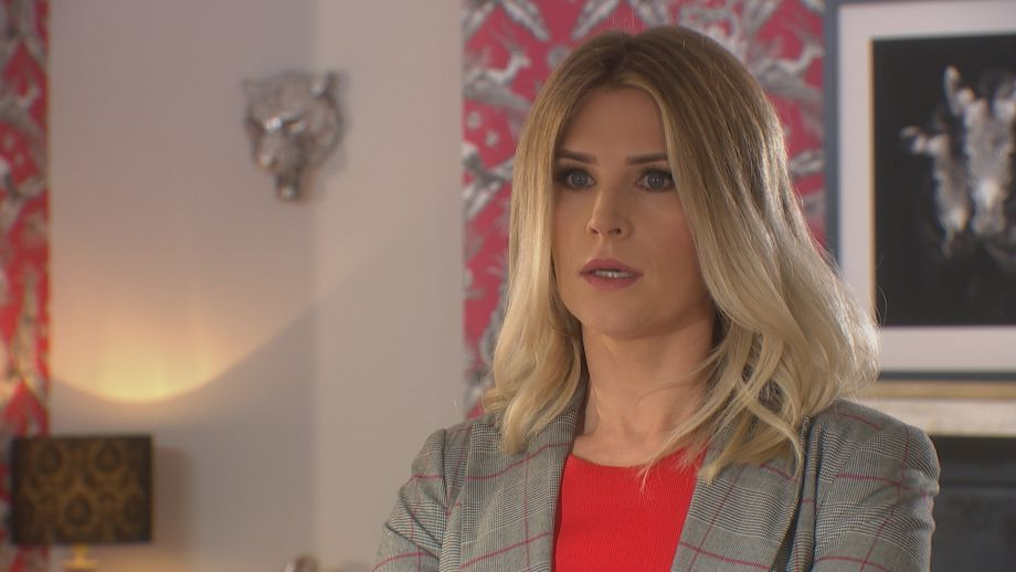 Mandy Richardson in Hollyoaks