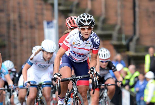 Sharon Laws, British road race national championships 2013