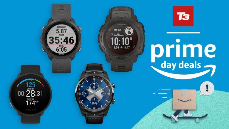 Amazon Prime Day 2021 running watch deals fitness tracker deals
