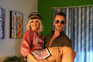 Darren Osborne and Mandy