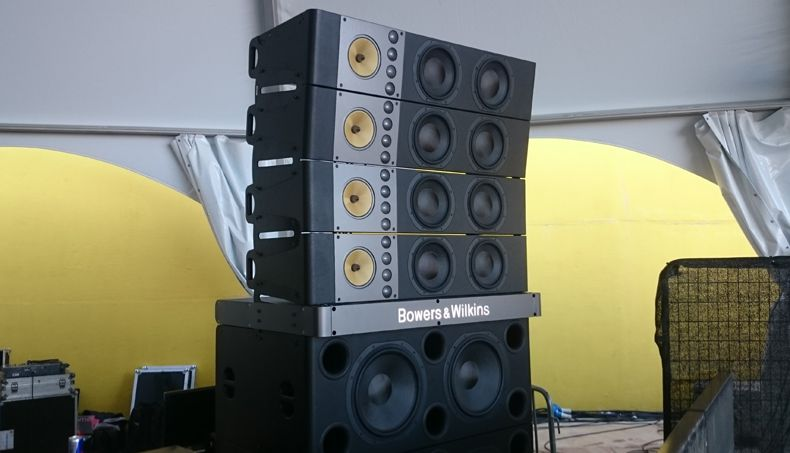 B Amp W Sound System 144 Drivers 120k Watts 1 Million