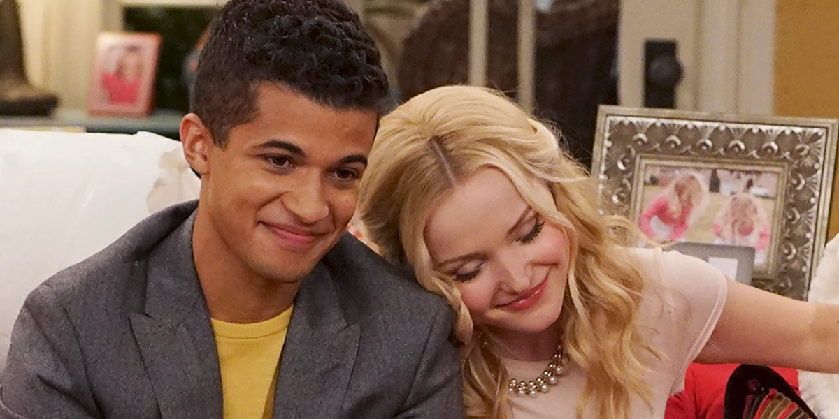 Jordan Fisher and Dove Cameron on Liv And Maddie