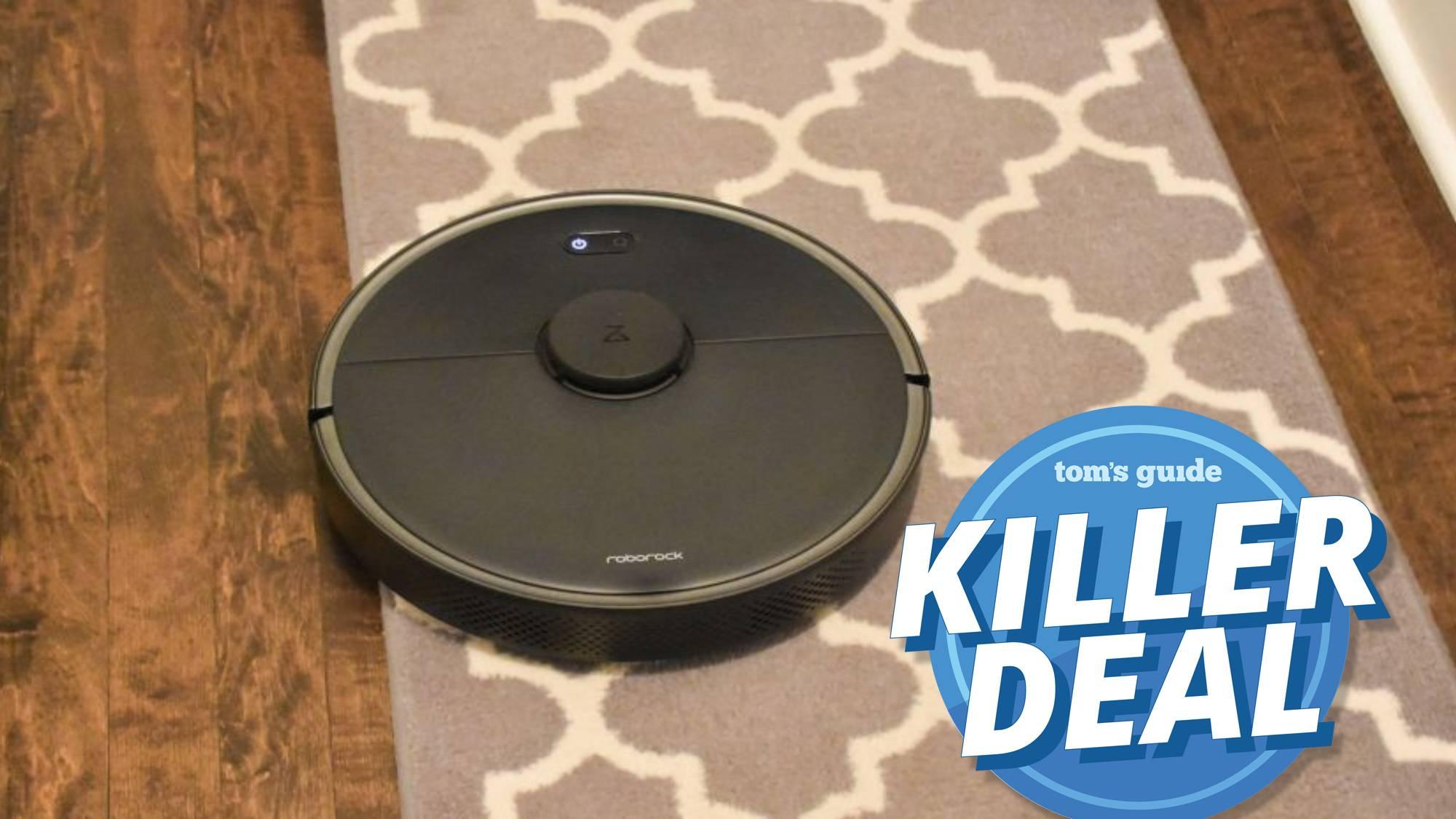 Roborock S4 Max robot vacuum prime day deal