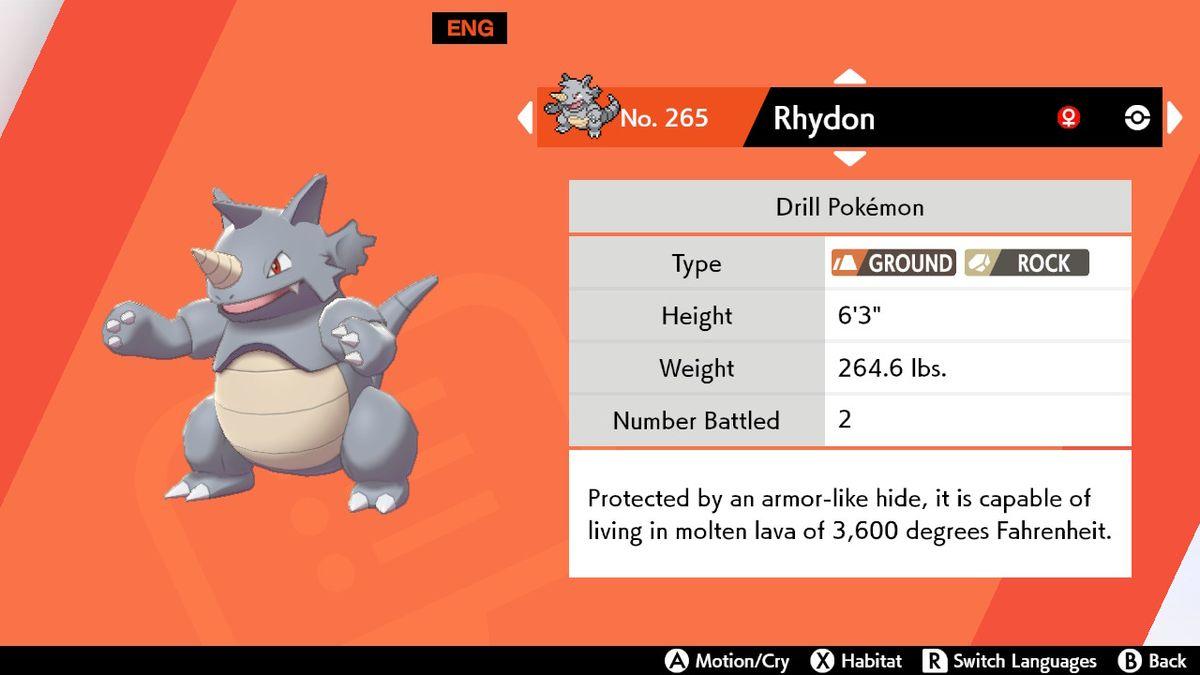Pokemon Sword And Shield Protector How To Evolve Rhydon Into Rhyperior Gamesradar