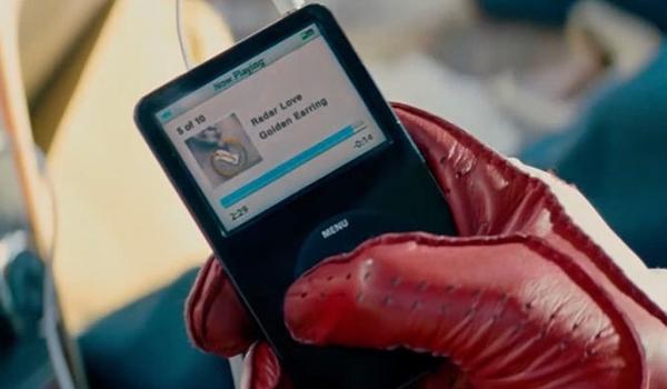 Radar Love By Golden Earring on Baby's iPod